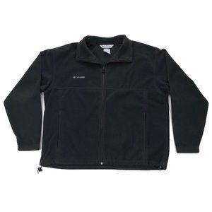 Columbia Black Fleece Jacket Men's Size XL